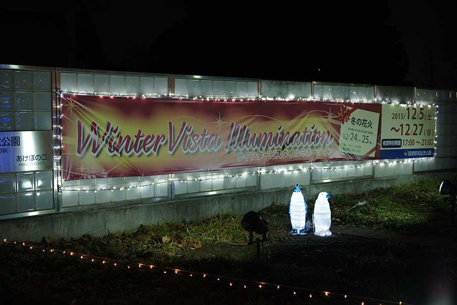 昭和記念公園illumination2