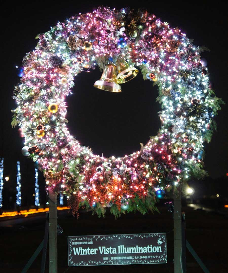 昭和記念公園illumination9