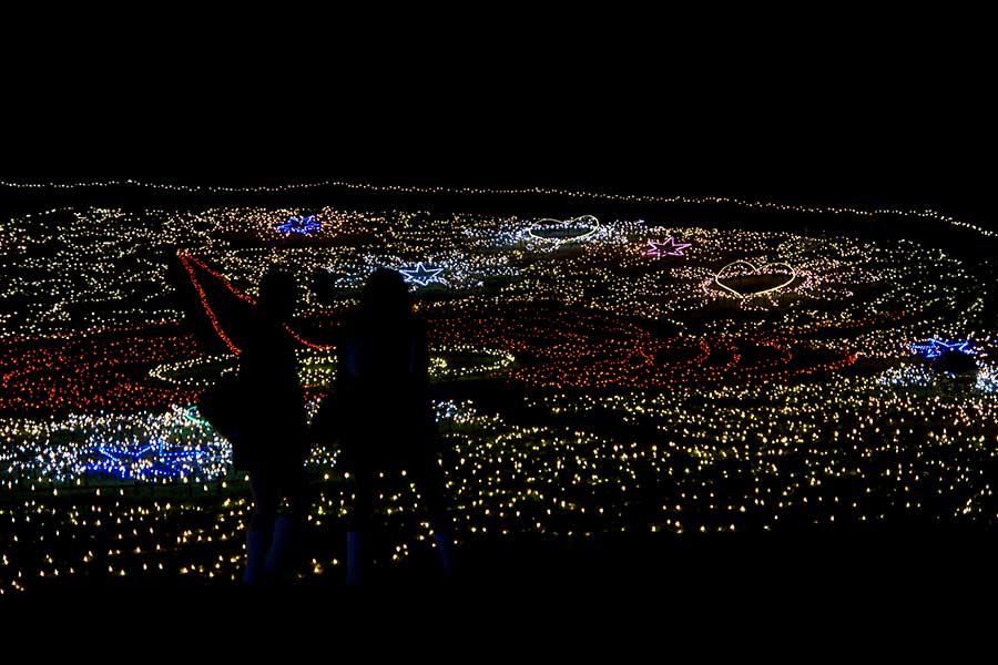 昭和記念公園illumination26