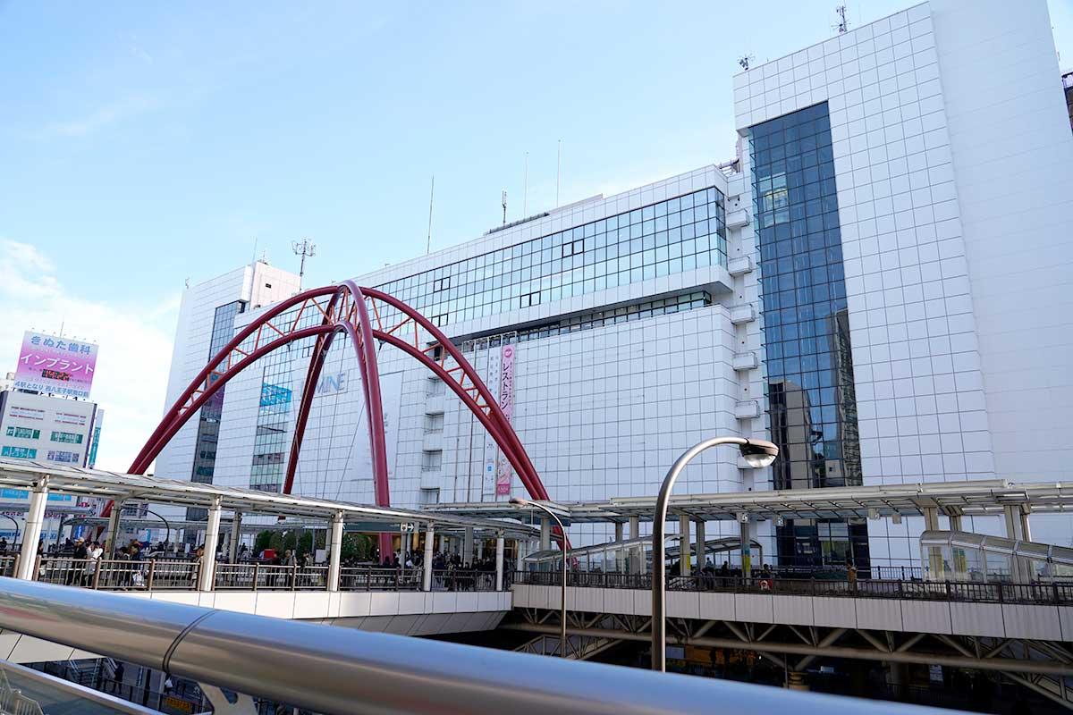 立川駅北口歩行者デッキ
