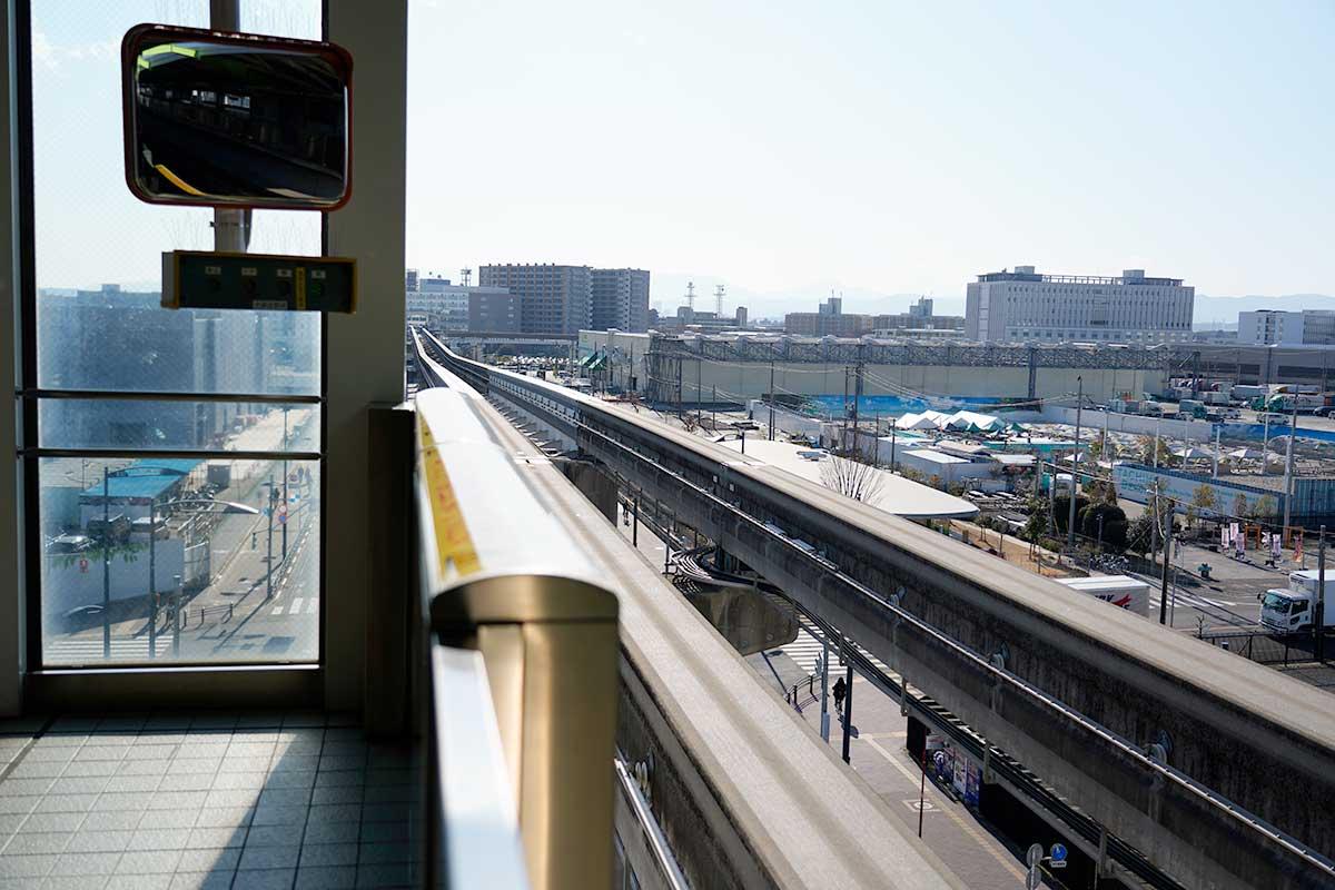 多摩モノレール立飛駅
