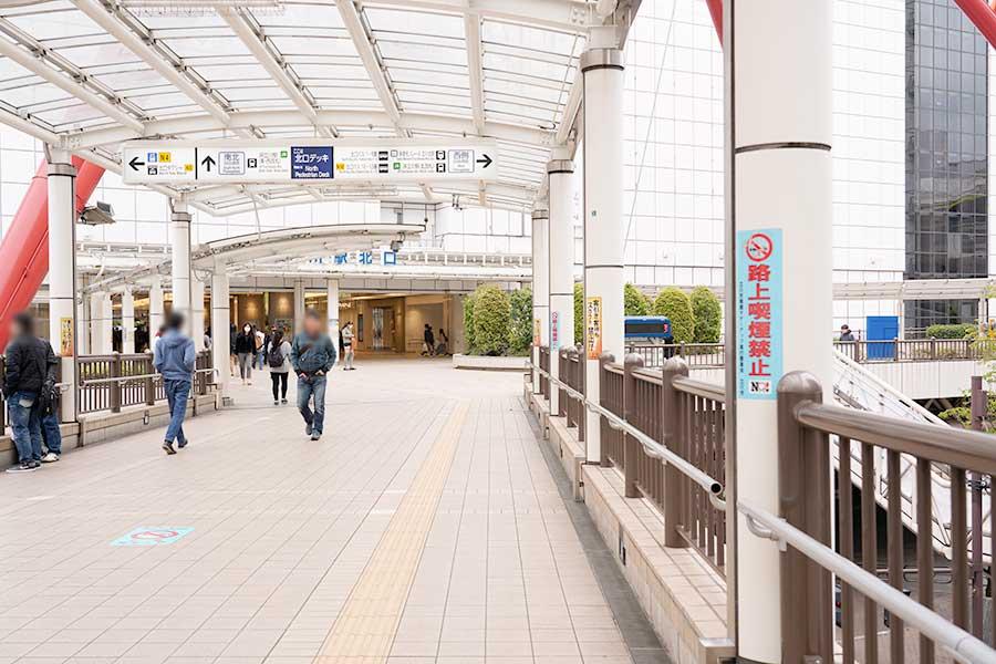 週末の立川駅(北口編)