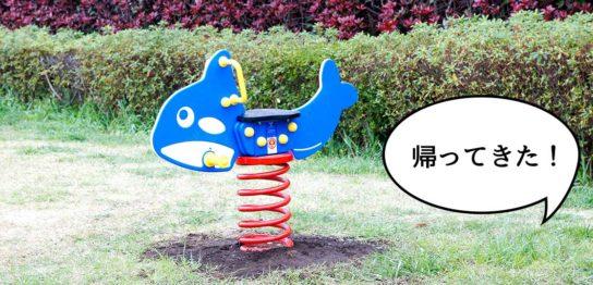 若葉公園ゆらゆら遊具